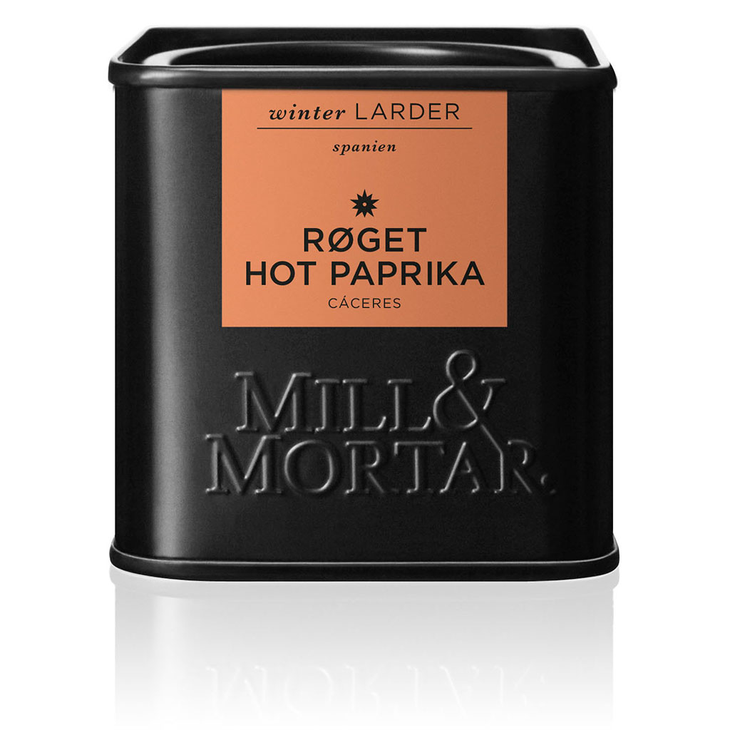 Image of   Mill & Mortar Røget HOT paprika