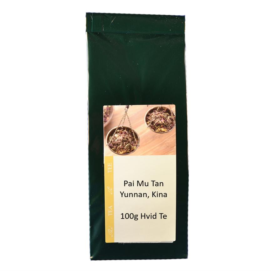 Hvid Te - Pai Mu Tan Øko 50 g