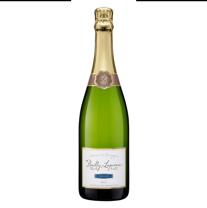 Image of   Crémant de Bourgogne Bailly-Lapierre Pinot Noir Brut