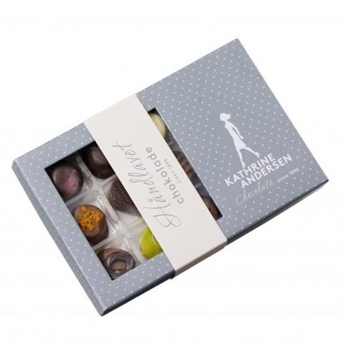 Image of   Kathrine Andersen Chokolade 9 stk.