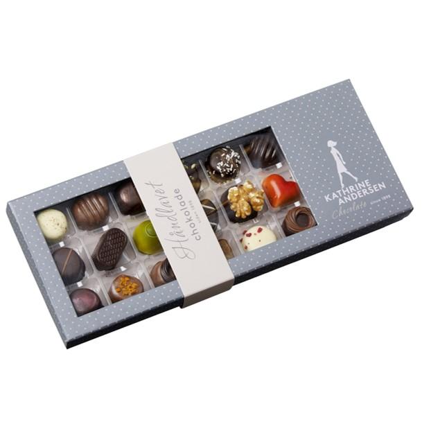 Image of   Kathrine Andersen Chokolade 18 stk.