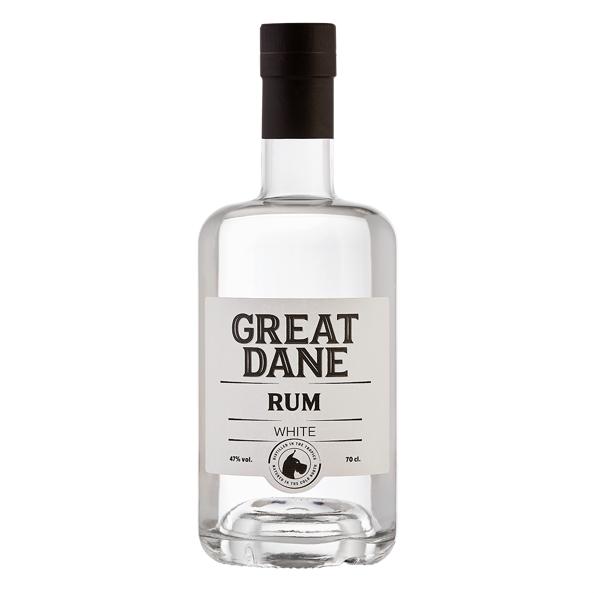 Great Dane Rum White