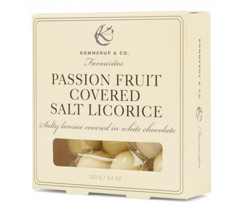 Billede af Passion Fruit Covered Salt Lakrids
