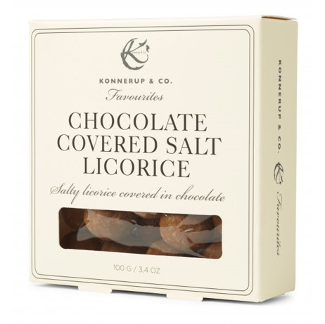 Image of   Chokolade covered Salt Lakrids