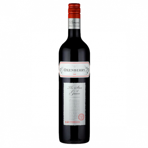 Oxenberry The Star of Greece Shiraz 2012