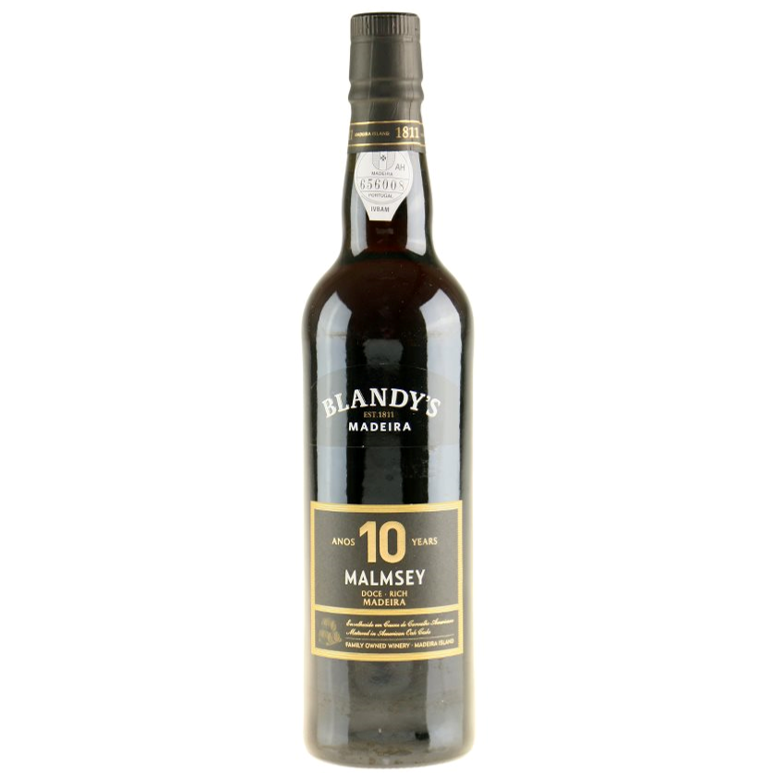 Blandy's 10 years Malmsey Madeira