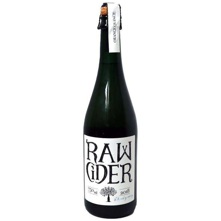 Raw Cider Orange Quince
