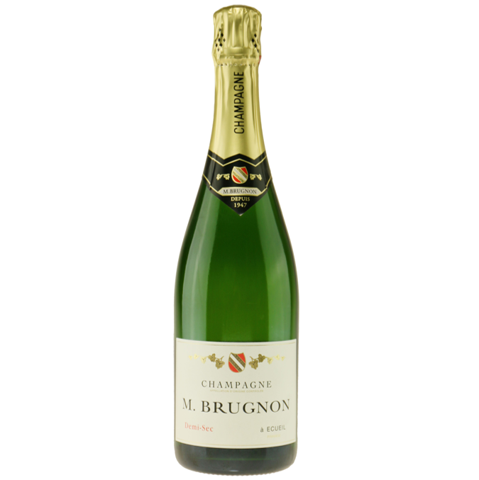 Champagne M. Brugnon Demi Sec
