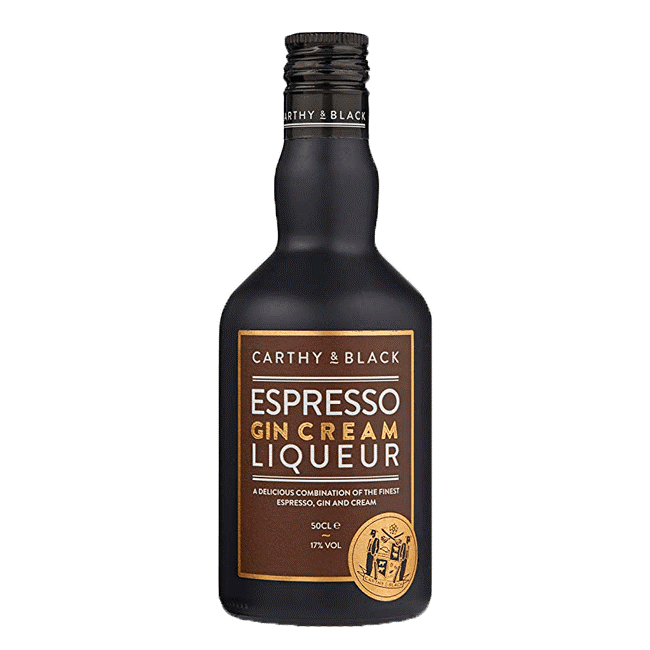 Carthy & Black Espresso Gin Cream Liqueur