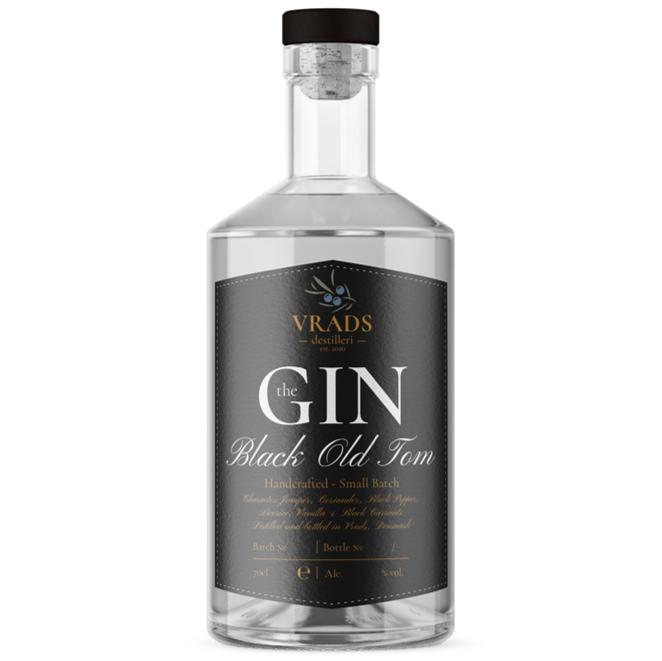 Vrads Black Old Tom Gin