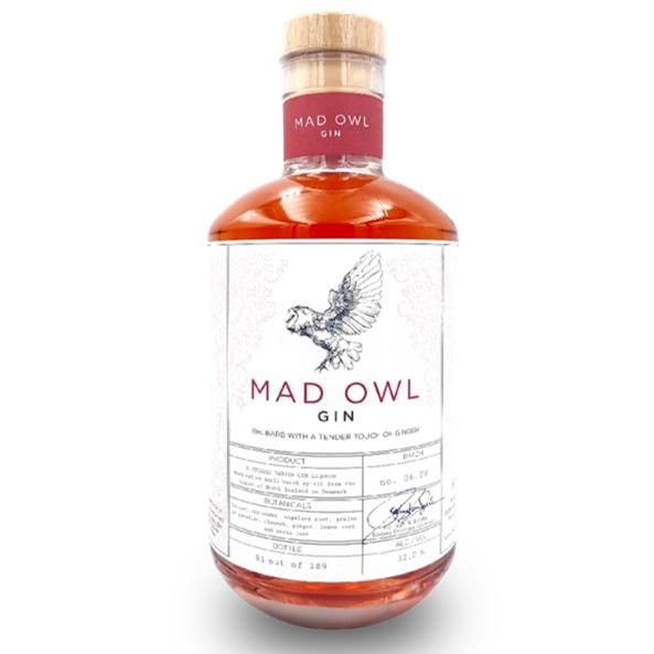 Thornæs Mad Owl Gin - Rhubarb